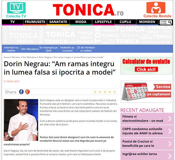 Dorin Negrau: