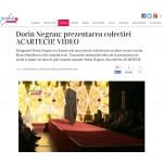Dorin Negrau: prezentarea colectiei ACARTECH!
