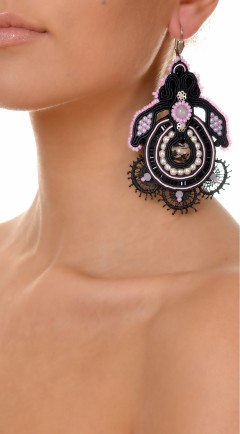 earrings DUALITY black04