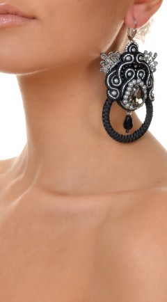 earrings DUALITY black05
