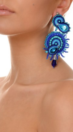 earrings DUALITY blue01