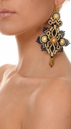 earrings DUALITY black01