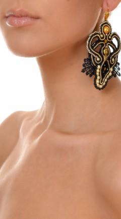 earrings DUALITY black02