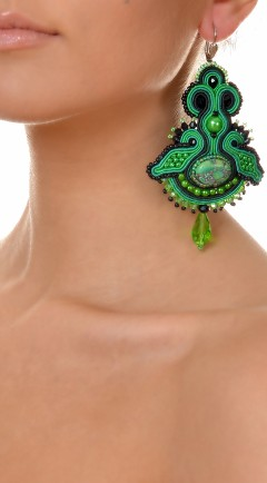 earrings DUALITY green01
