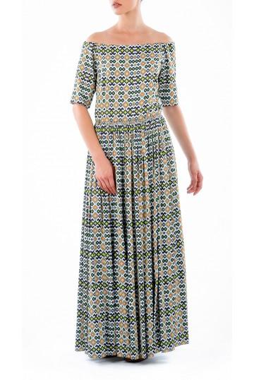 Dress LOOK 16 print