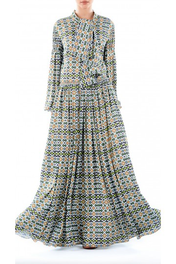 Dress LOOK 15A print